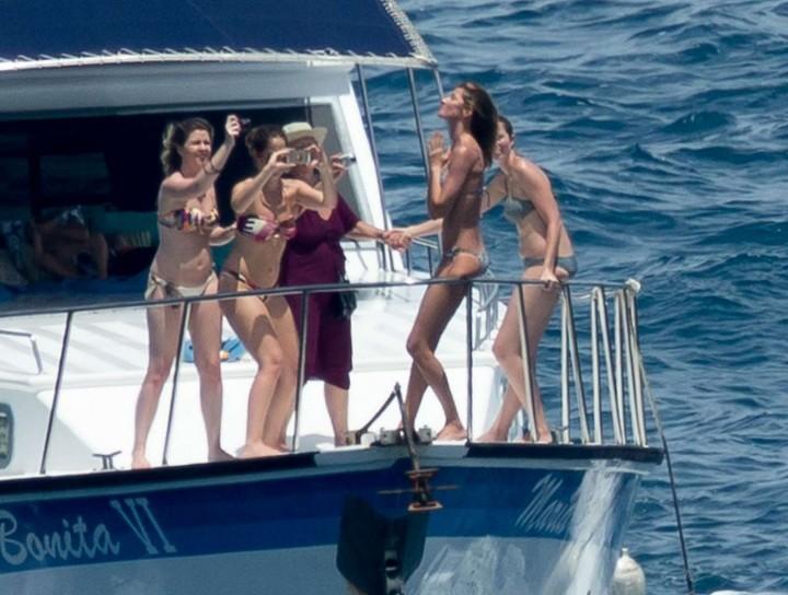 Gisele Bundchen Bikini Photos: 2014 in Brazil -06