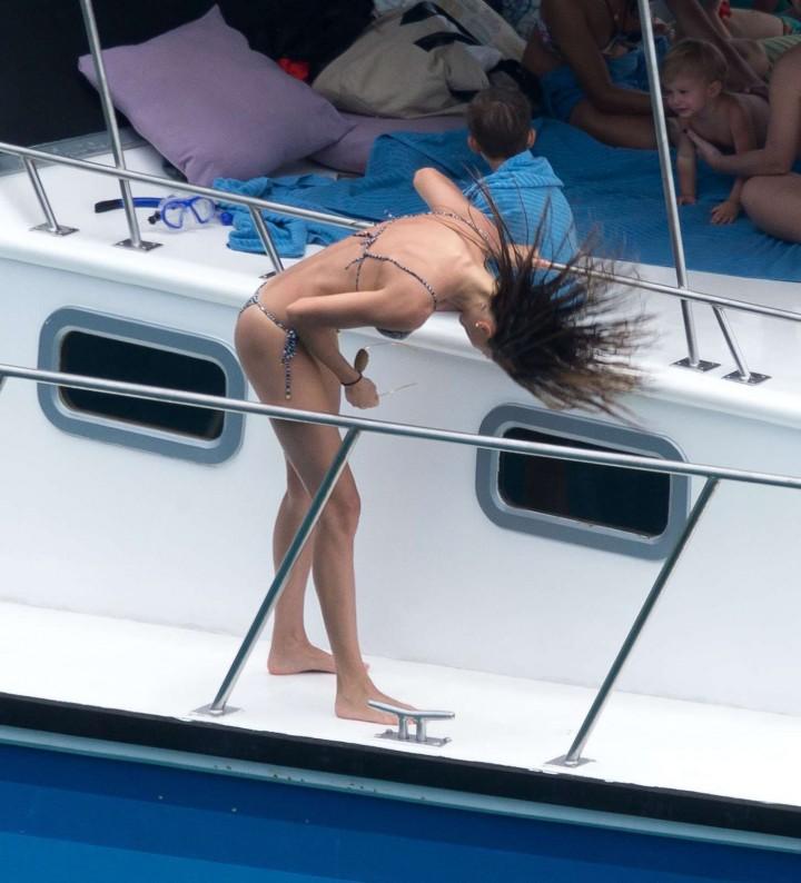 Gisele Bundchen Bikini Photos: 2014 in Brazil -09