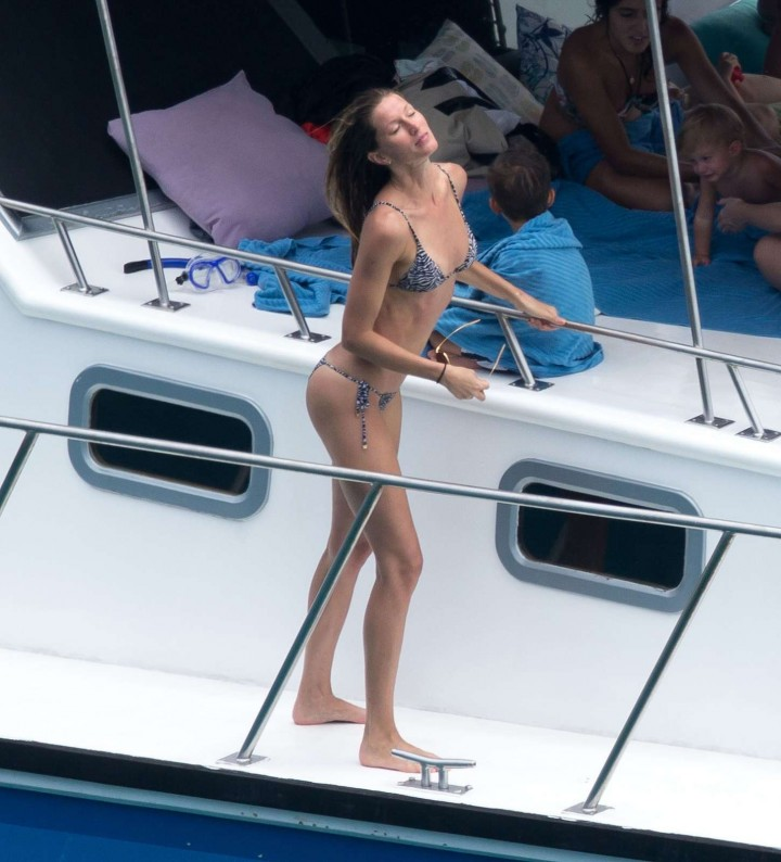Gisele Bundchen Bikini Photos: 2014 in Brazil -11