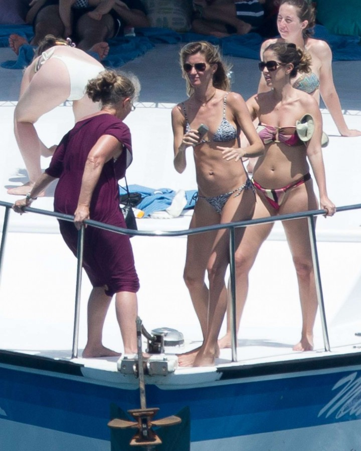Gisele Bundchen Bikini Photos: 2014 in Brazil -15