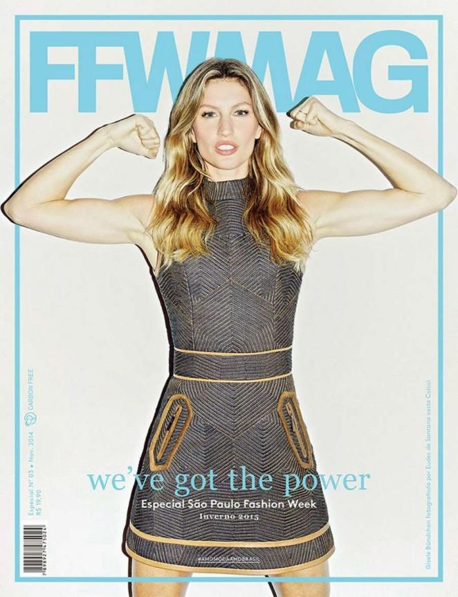 Gisele Bundchen - FFWMAG Cover (Winter 2015)