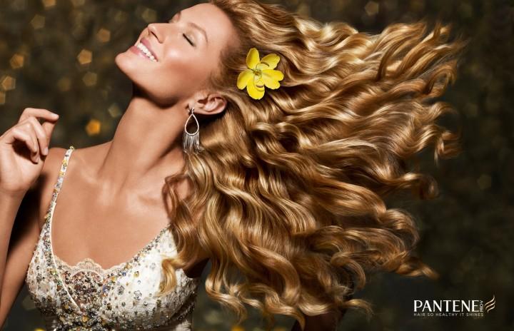 Gisele Bundchen: Pantene Campaign Photoshoot 2014 -05