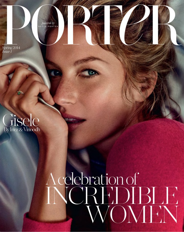 Gisele Bundchen: Porter Magazine (Spring 2014) (Emilio Pucci 2014 Campaign) -02