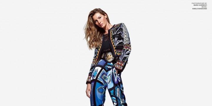 Gisele Bundchen: Porter Magazine (Spring 2014) (Emilio Pucci 2014 Campaign) -04