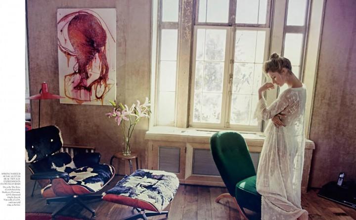 Gisele Bundchen: Porter Magazine (Spring 2014) (Emilio Pucci 2014 Campaign) -05