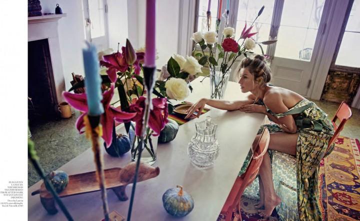 Gisele Bundchen: Porter Magazine (Spring 2014) (Emilio Pucci 2014 Campaign) -07