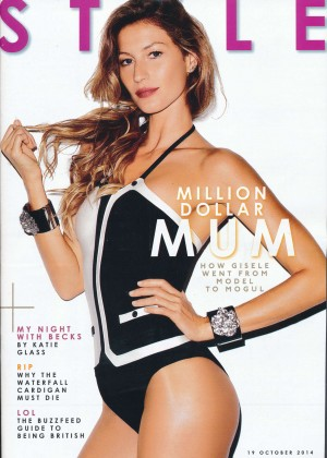 Gisele Bundchen - Style Magazine (October 2014)