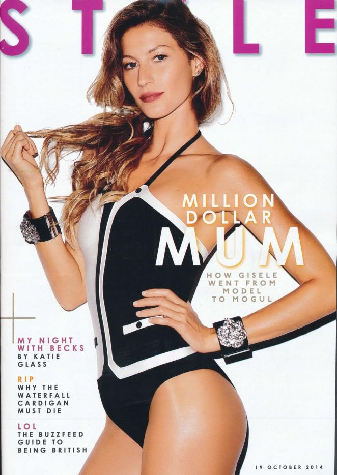 Gisele Bundchen - Style Magazine (October 2014)