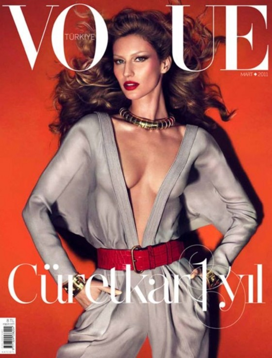 Gisele Bundchen sexy in 'Vogue'