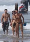 Gisele Bundchen - wearing a Bikini in Costa Rica -07