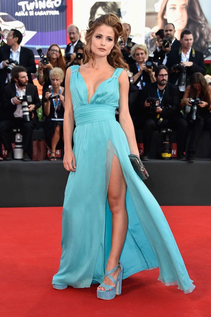 """Giulia Elettra Gorietti - """"Birdman"""" Premiere at 2014 Venice Film Festival"""