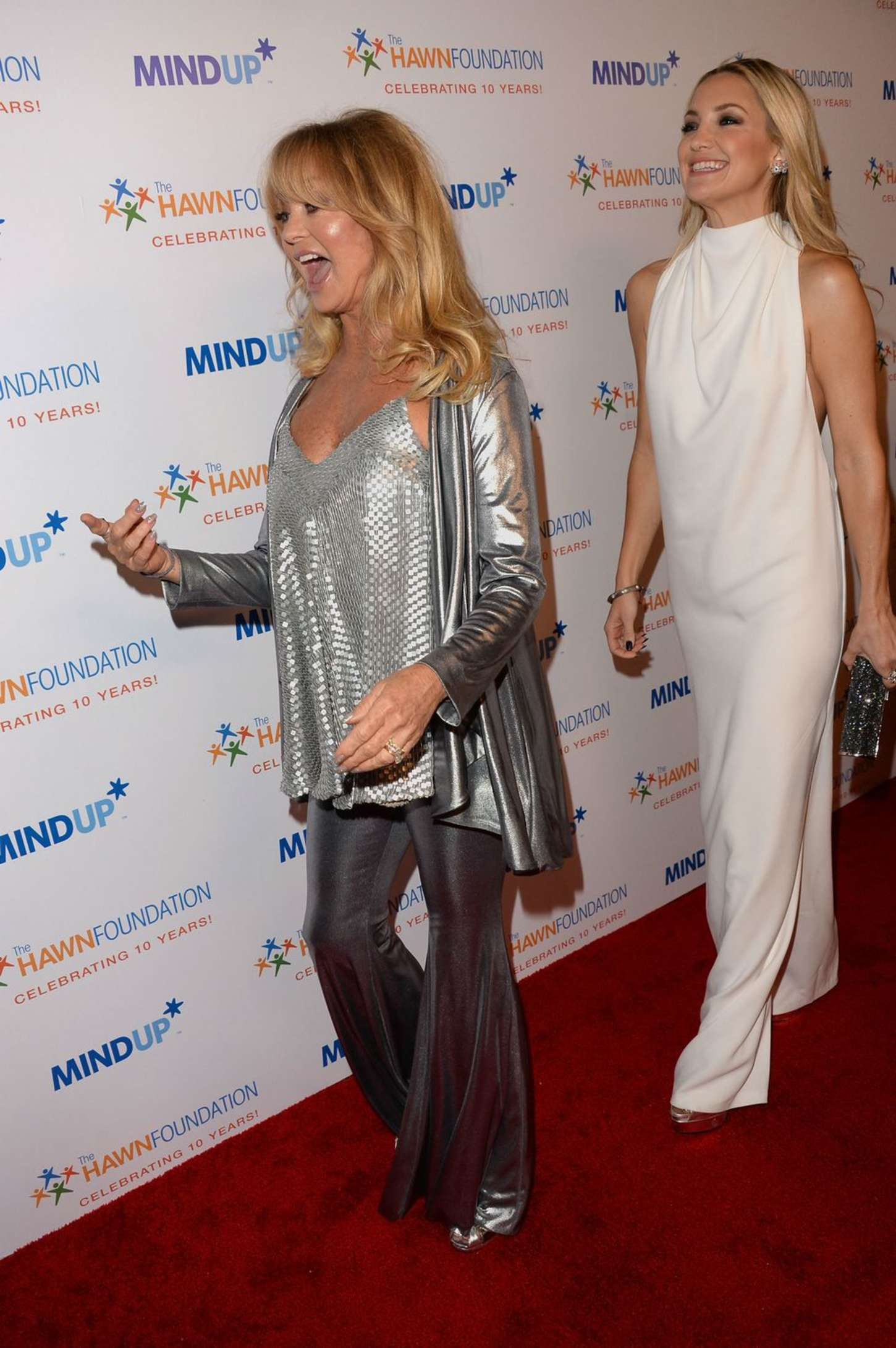 Goldie Hawn And Kate Hudson Love In For Kids Charity