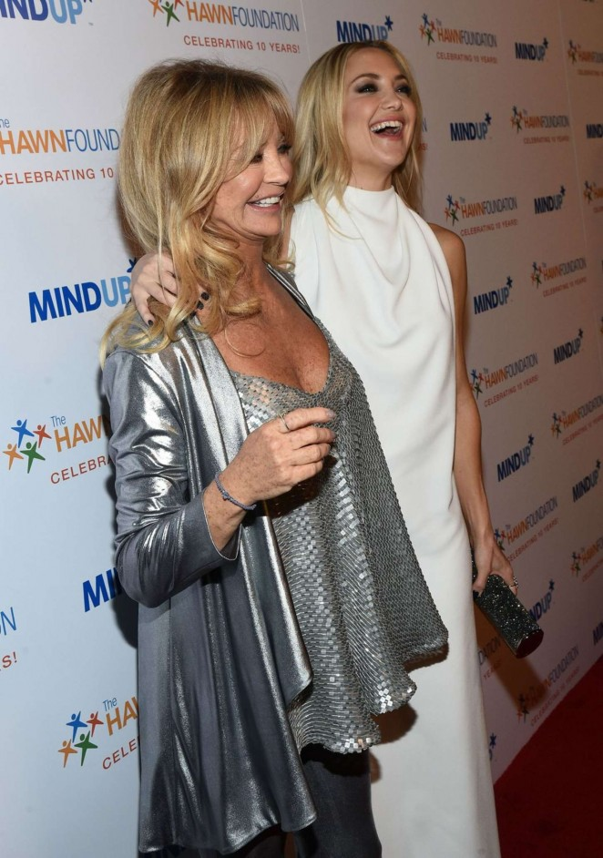 Goldie Hawn and Kate H...