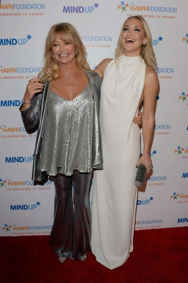 """Goldie Hawn and Kate Hudson at Goldie Hawn's Inaugural """"Love In For Kids"""" Event in Beverly Hills"""