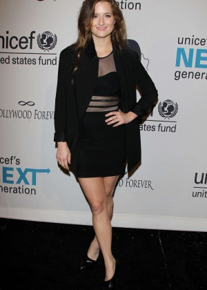 Grace Gummer - UNICEF's Next Generation's 2nd Annual Masquerade Ball in LA