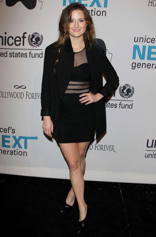 Grace Gummer - UNICEF's Next Generation's 2nd Annual Masquerade Ball in LA