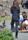 Grace Park - filming Hawaii Five-0 in Oahu-02