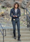 Grace Park - filming Hawaii Five-0 in Oahu-03