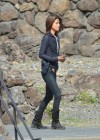 Grace Park - filming Hawaii Five-0 in Oahu-10