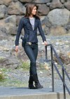 Grace Park - filming Hawaii Five-0 in Oahu-12