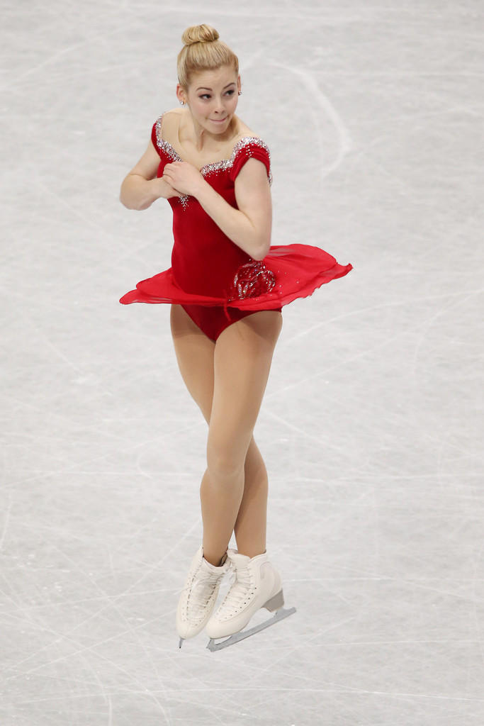 gracie gold red dress