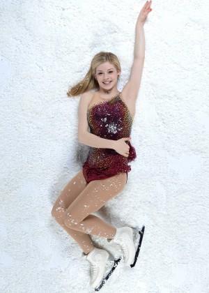 Gracie Gold Photos: Olympic 2014 Media Summit PhotoShoot -09