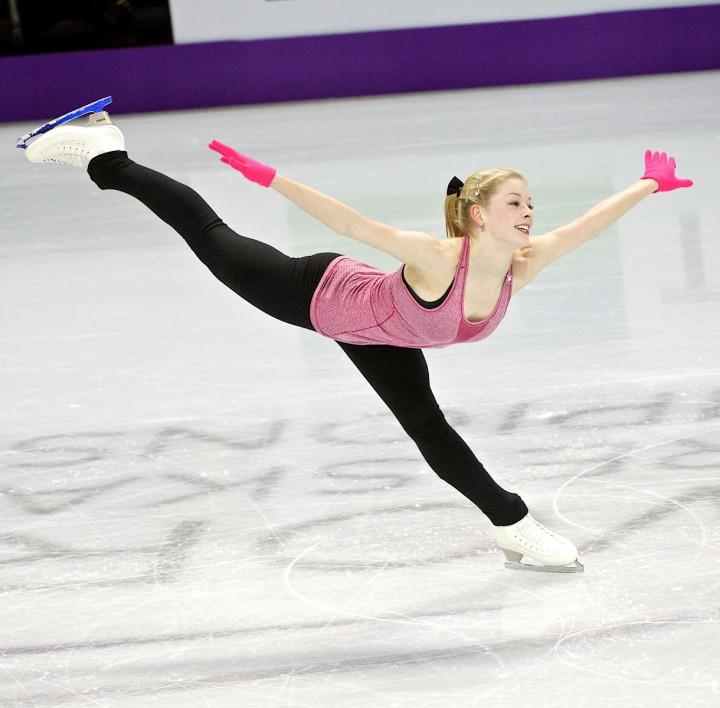 Gracie Gold: Practice Photos -01