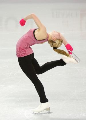 Gracie Gold: Practice Photos -02
