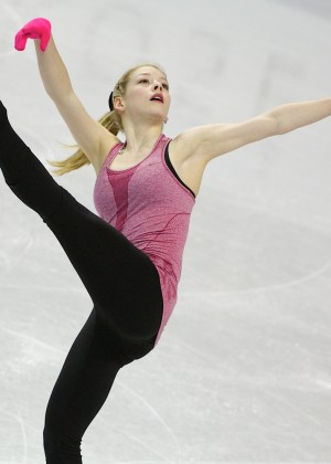 Gracie Gold: Practice Photos -03