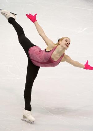 Gracie Gold: Practice Photos -04