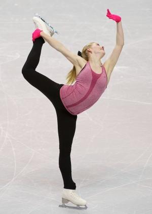 Gracie Gold: Practice Photos -05