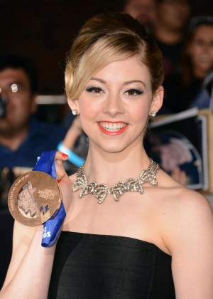 Gracie Gold: Divergent Premiere -02
