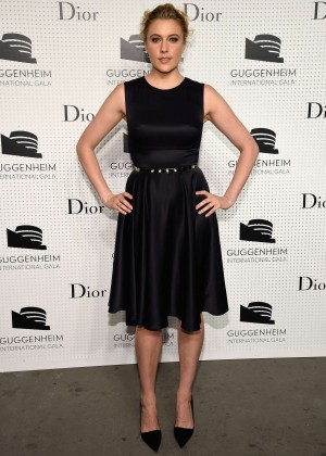 Greta Gerwig - Guggenheim International Gala Pre-Party in NY