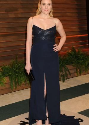 Greta Gerwig: Oscar 2014 - Vanity Fair Party -01