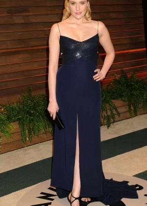 Greta Gerwig: Oscar 2014 - Vanity Fair Party -02