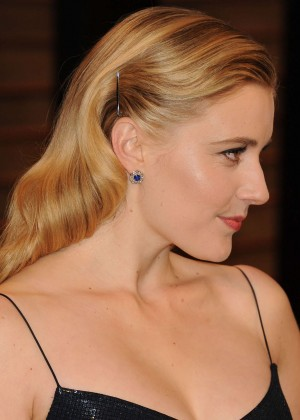 Greta Gerwig: Oscar 2014 - Vanity Fair Party -03