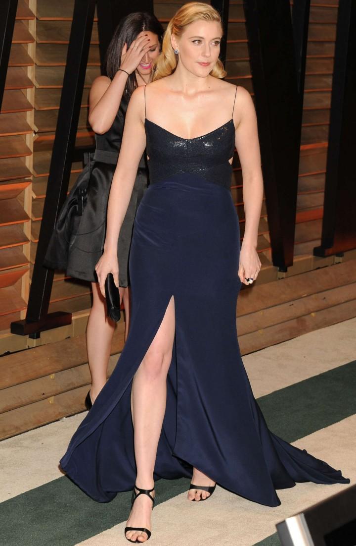 Greta Gerwig Oscar 2014 Vanity Fair Party 04 Gotceleb