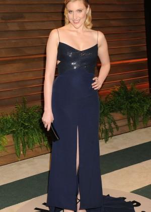 Greta Gerwig: Oscar 2014 - Vanity Fair Party -07