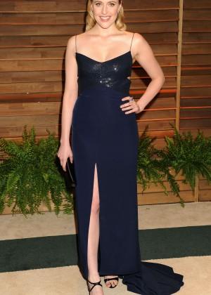 Greta Gerwig: Oscar 2014 - Vanity Fair Party -08