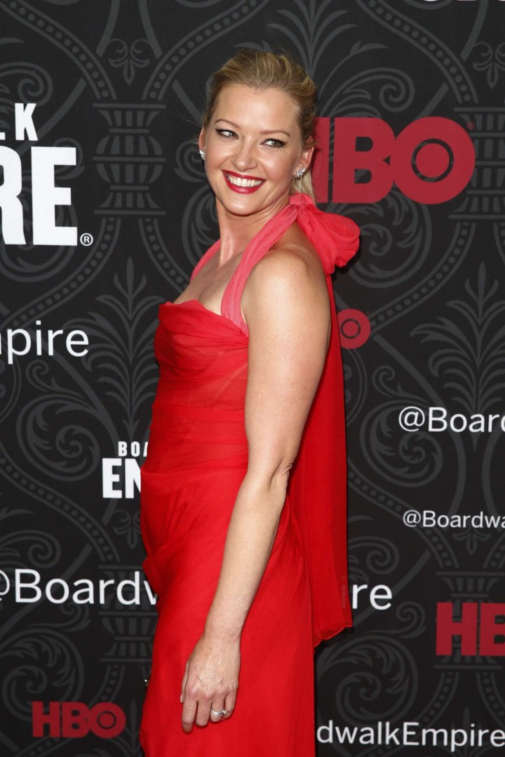 "Gretchen Mol - ""Boardwalk Empire"" Season5 Premiere in NYC"