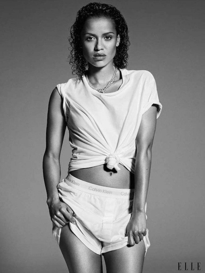 Gugu Mbatha-Raw - ELLE US Magazine (November 2014)