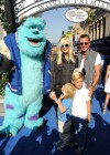 Gwen Stefani with family at Monsters University premiere -02