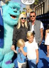 Gwen Stefani with family at Monsters University premiere -03