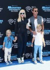 Gwen Stefani with family at Monsters University premiere -04