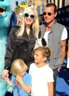 Gwen Stefani with family at Monsters University premiere -07