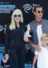 Gwen Stefani with family at Monsters University premiere -08