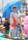 Gwen Stefani - At the beach in Long Beach -06
