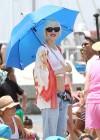 Gwen Stefani - At the beach in Long Beach -11