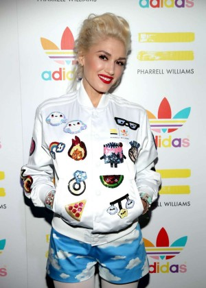 Gwen Stefani - Attends Adidas Celebration Event in LA