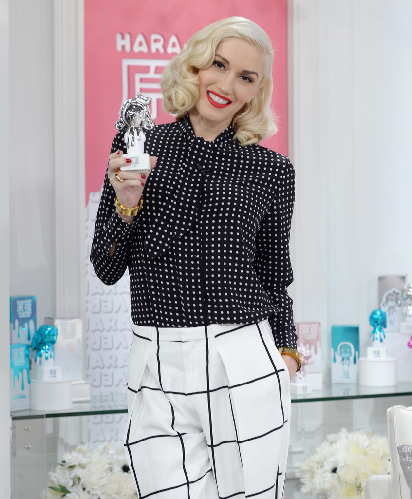 Gwen Stefani - Debuts New Harajuku Lovers POP ELECTRIC Collection Exclusively on HSN in St. Petersburg